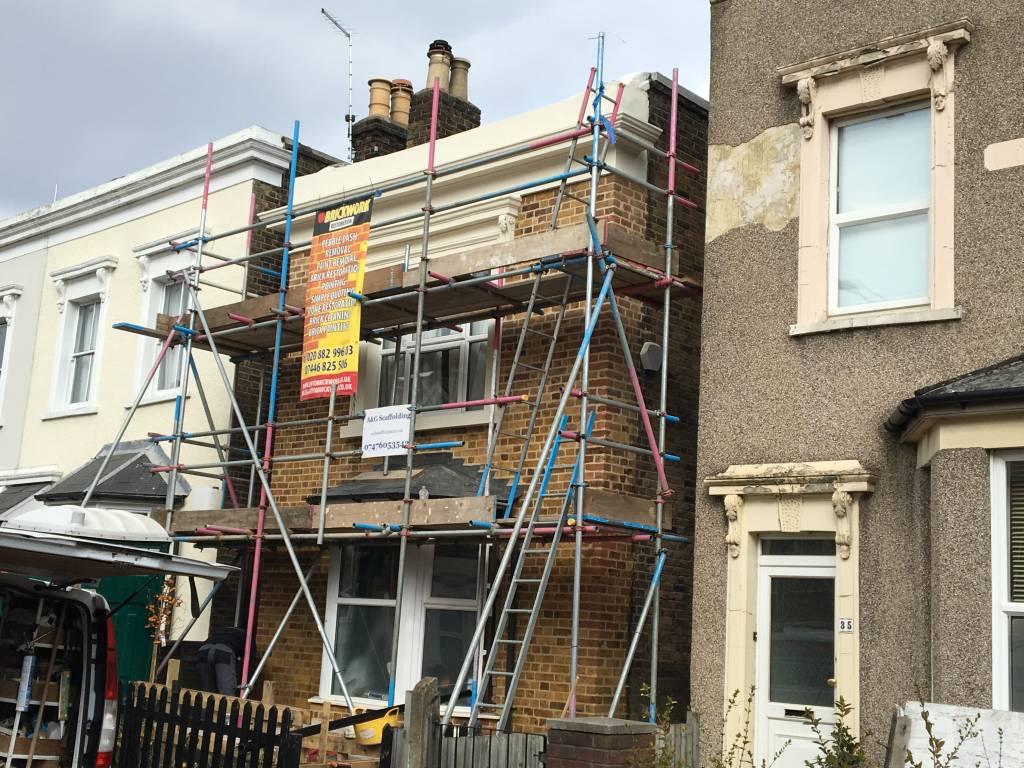 The Next House With Paint Evto Bricks Restoration Ltd