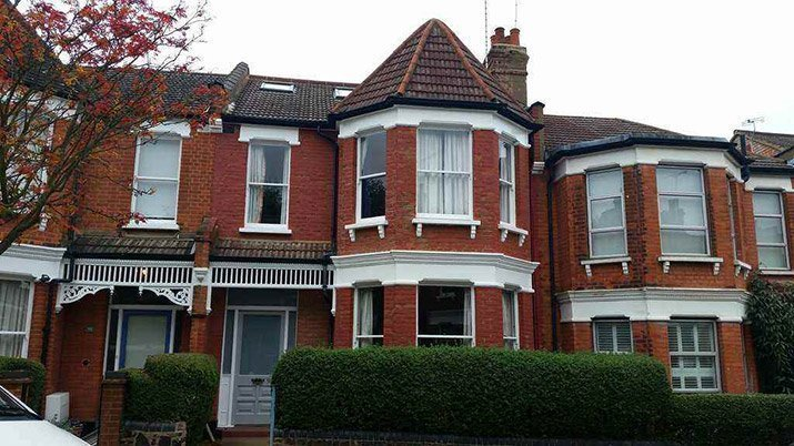 brick pointing in London